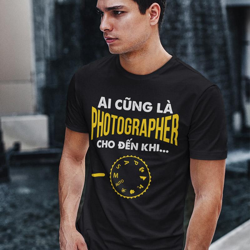 Bộ sưu tập thiết kế áo thun dành cho Photographer