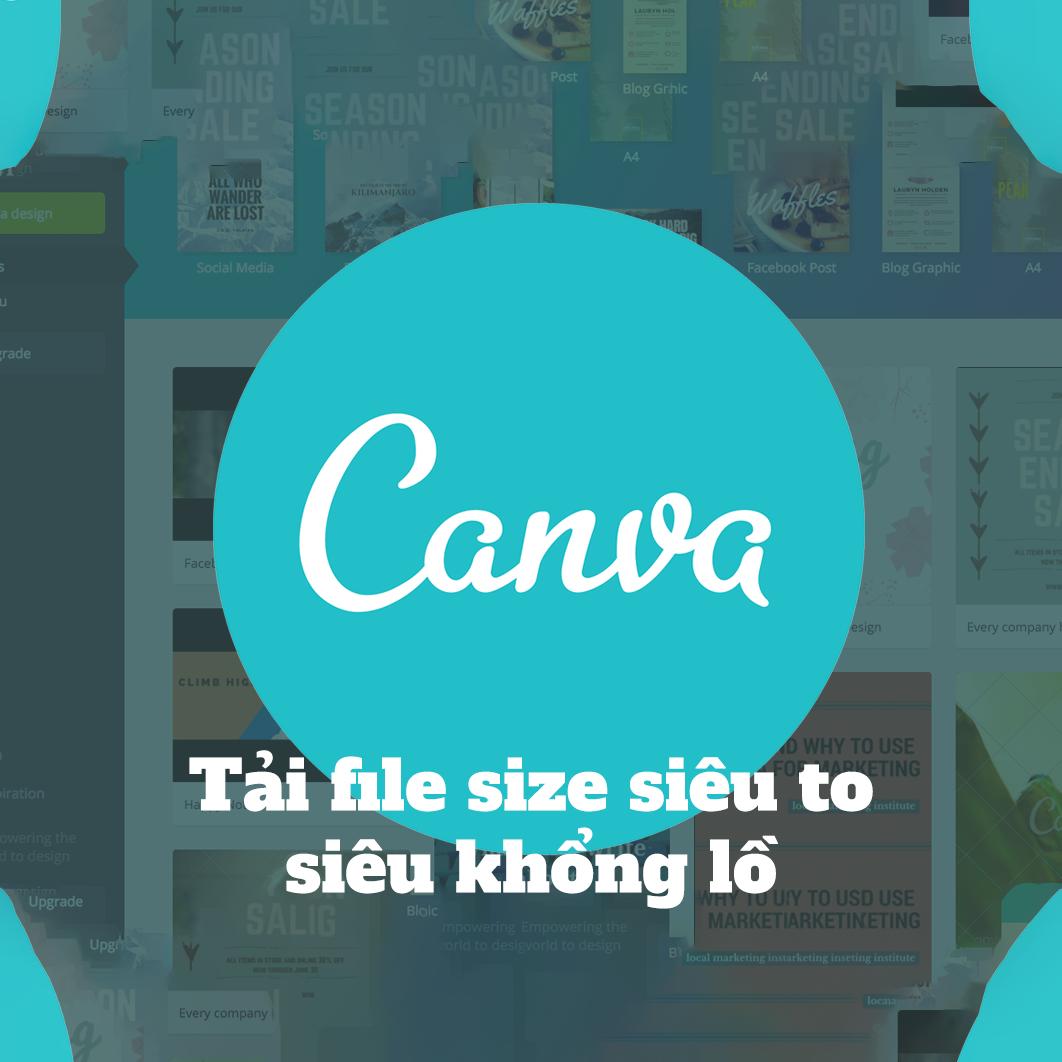 Hướng dẫn tải file chất lượng cao từ Canva